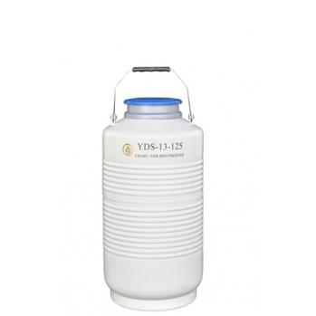 成都金凤大口径液氮生物容器YDS-13-125