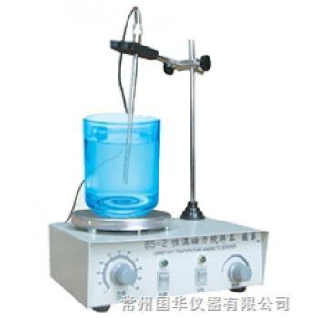 常州国华大功率恒温磁力搅拌器85-1