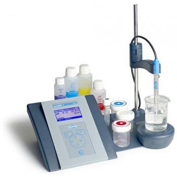 美国哈希sensION+系列电化学电极测定仪台式PH测定仪PH3