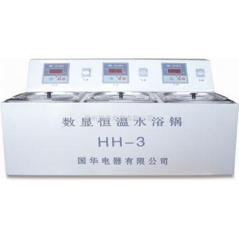 常州国华数显单控单列水浴锅HH-3A