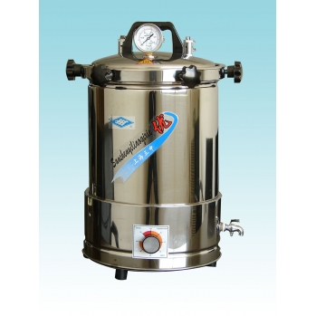上海三申手提式灭菌器YX-280A*(座式电热)