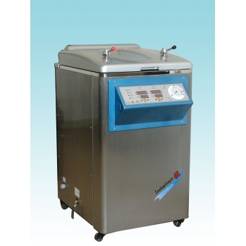 上海三申不锈钢立式电热蒸汽灭菌器YM50Z