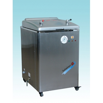 上海三申不锈钢立式电热蒸汽灭菌器YM75B
