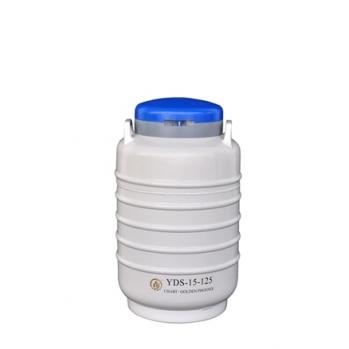 成都金凤大口径液氮生物容器YDS-15-125