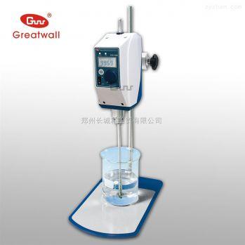 郑州长城科工贸数显顶置式搅拌器CHS-30D