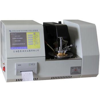 上海昌吉全自动闭口闪点试验器 (触摸屏)SYD-261D