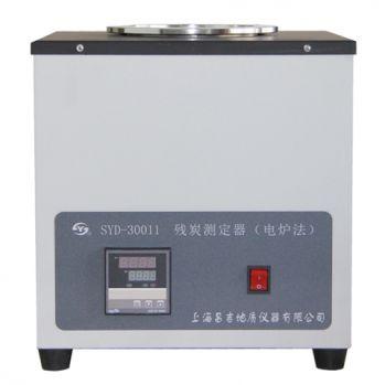 上海昌吉 数字温度控制电炉法残炭测定器  SYD-30011