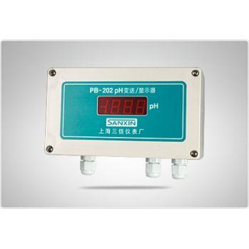 上海三信pH变送器/显示器PB-202