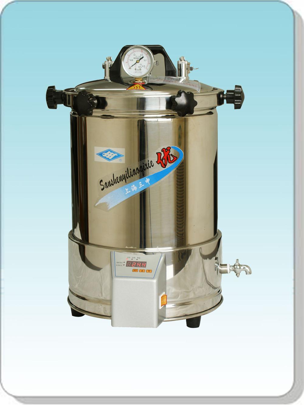 上海三申手提式灭菌器YX-280A*(定时数控)